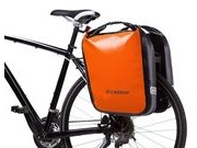 CROSSO Dry 60L Rear (Pair) KlickFix  Orange  click to zoom image