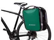 CROSSO Dry 60L Rear (Pair) KlickFix  Green  click to zoom image